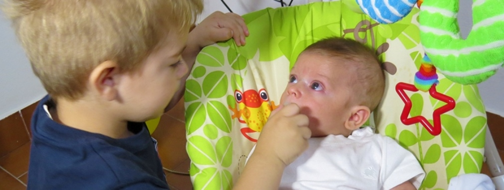 Visita al primer bebé del año