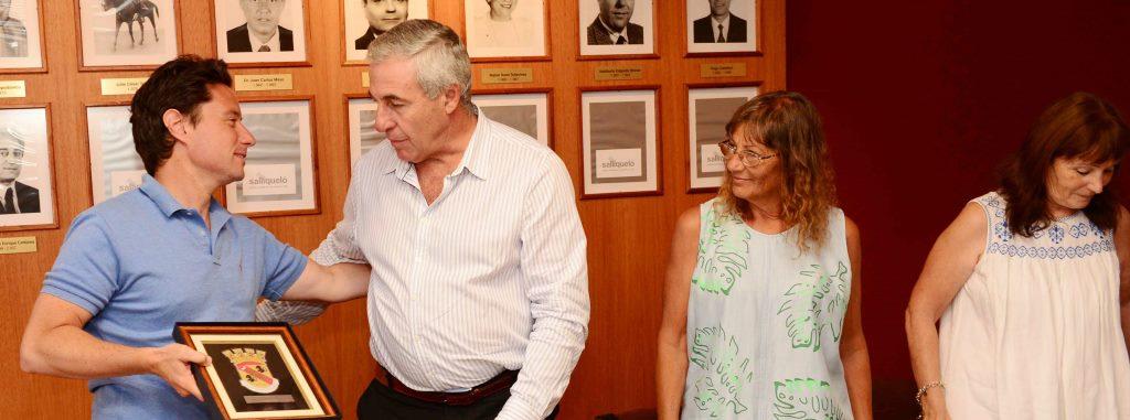 Sánchez Zinny en Salliqueló