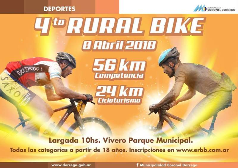 Rural Bike en Coronel Dorrego