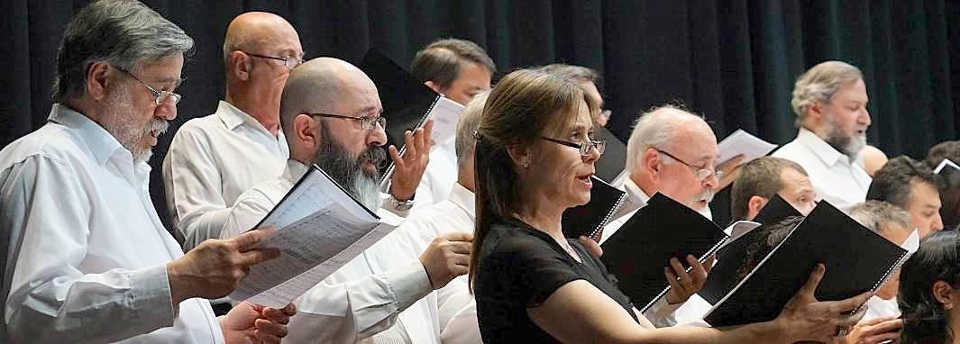 Presentación del Coro Estable de Bahía Blanca