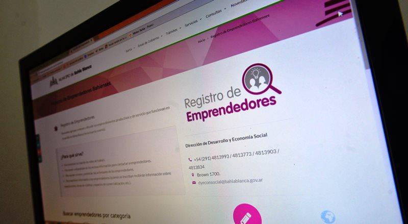 Sitio web para emprendedores