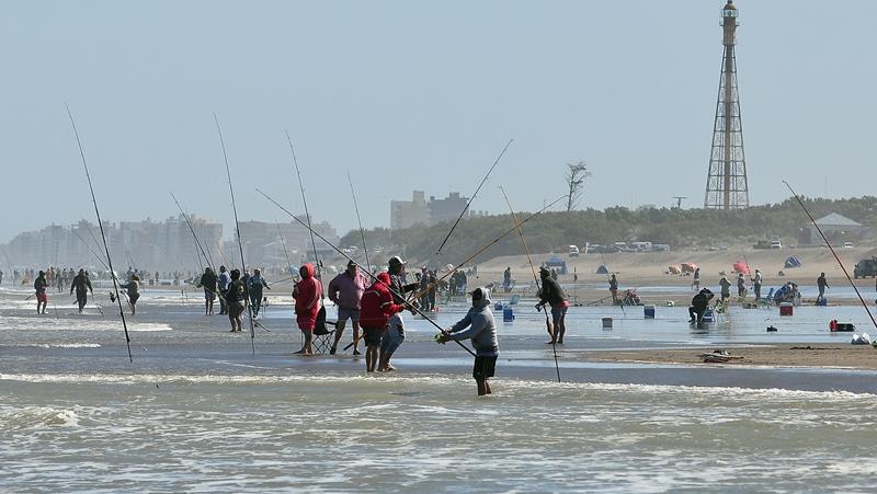 Concurso de pesca en Monte Hermoso