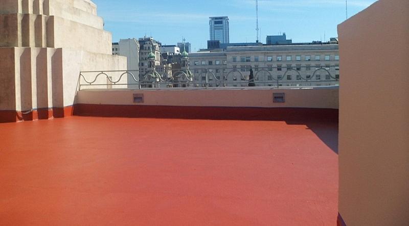 Pintar techos de cemento