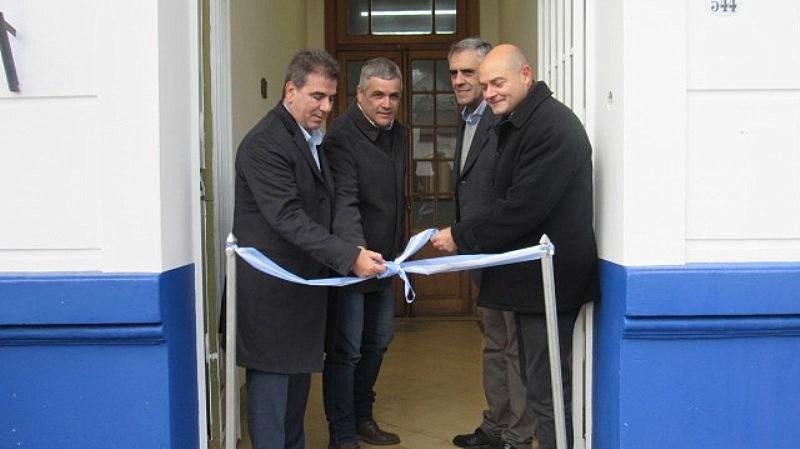 Inauguran Comisarías