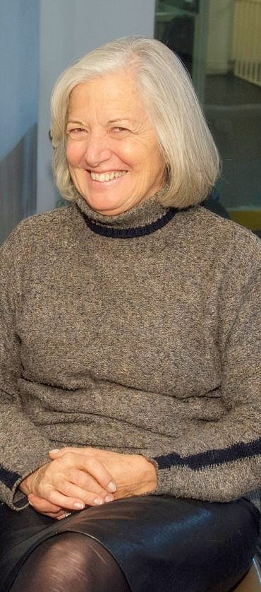 Rosa Rovira, artista plástica.