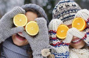 Invierno: Alimentos saludables