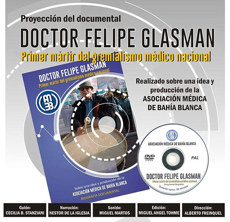 Documental sobre Felipe Glasman