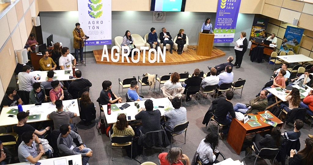 Bahía Blanca: Agrotón