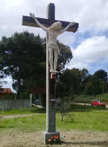 Cruz de la Plaza del Calvario de Sauce Grande