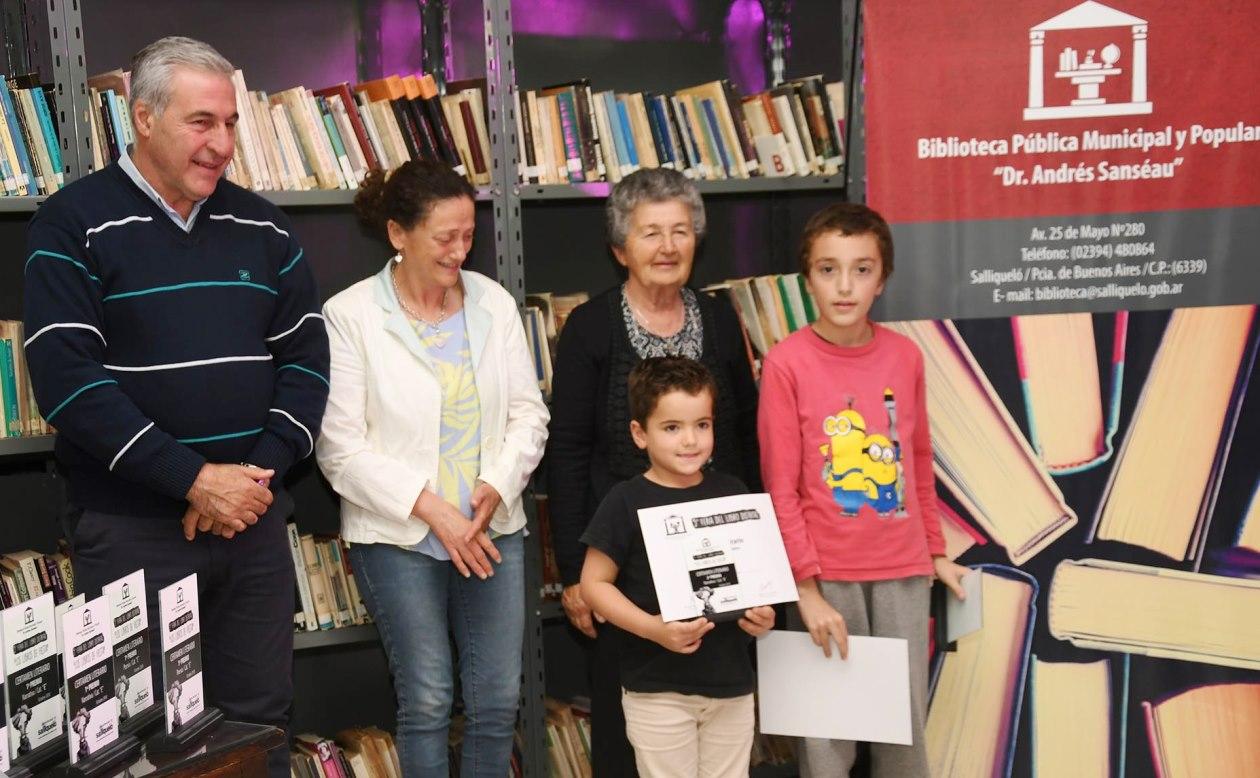 Premios del Certamen Literario