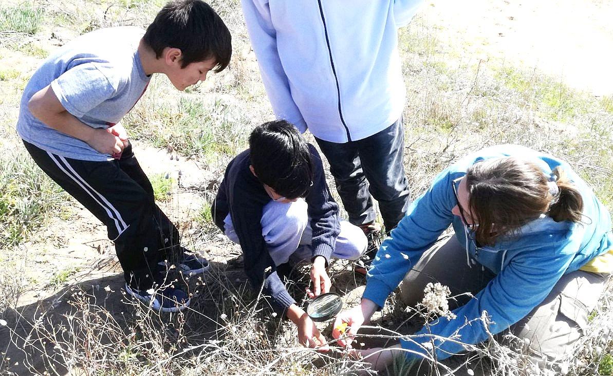 Conociendo la Biodiversidad, programa educativo en Coronel Dorrego.