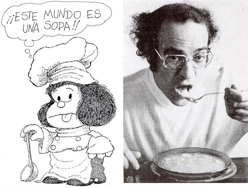 Muestra de Mafalda en Bahía Blanca