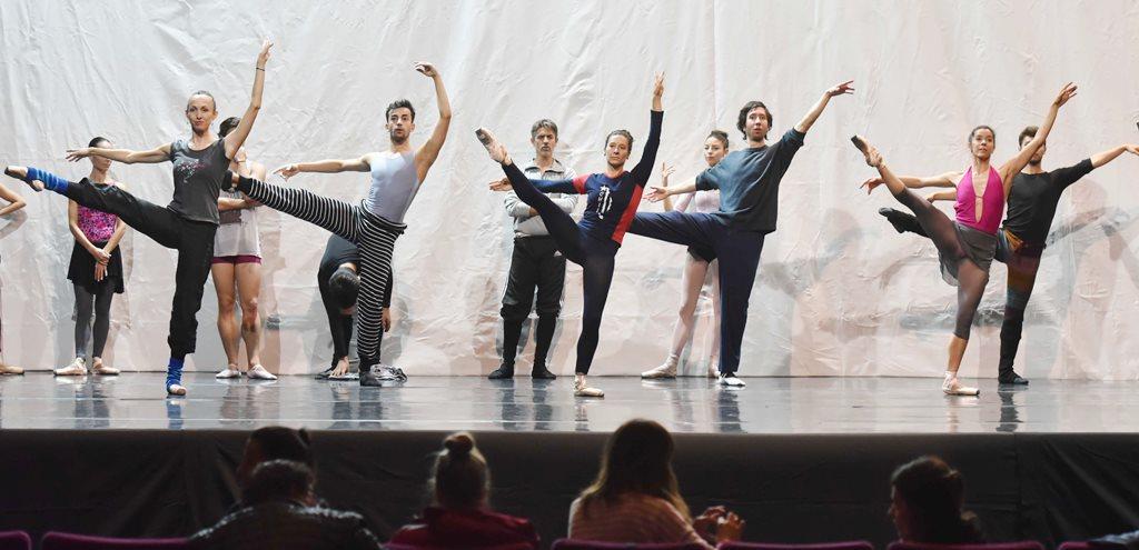 Ensayo del Ballet del Sur
